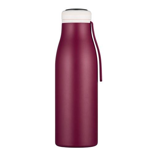 Ecoffee Cup Grand Cru - Softail Tall Heiß/Kalt Doppelwandige Thermoskanne - 500 ml - Dunkelrot