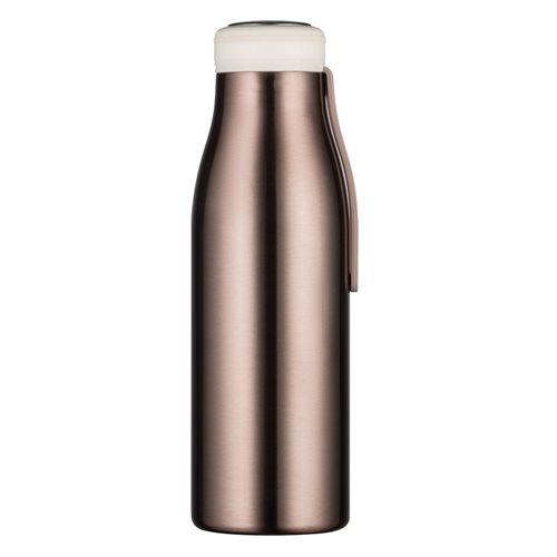 Ecoffee Cup Rosoro - Softail Tall Hot/Cold Vacuum Bottle - 500 ml - Rose Metallic
