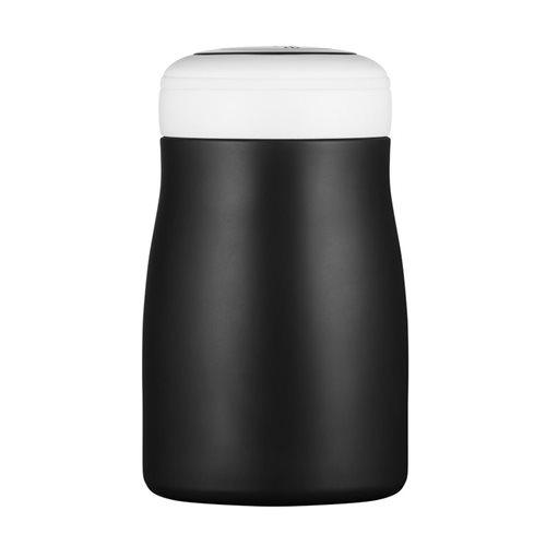 Ecoffee Cup Kerr & Napier - Softail Short Warm/Koud Dubbelwandig Thermosfles - 500 ml - Zwart