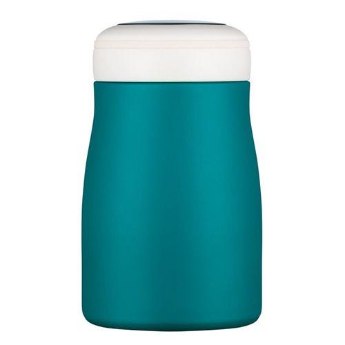 Ecoffee Cup Bay of Fires - Softail Short Warm/Koud Dubbelwandig Thermosfles - 500 ml - Petrol