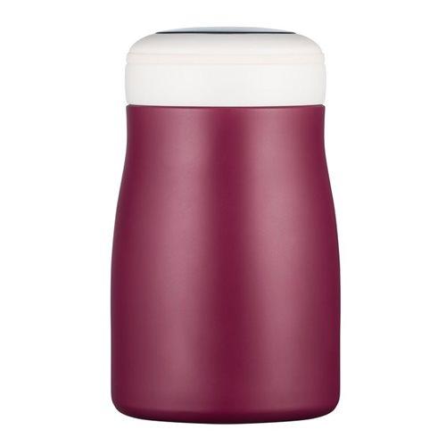 Ecoffee Cup Grand Cru - Softail Short Warm/Koud Dubbelwandig Thermosfles - 500 ml - Donkerrood