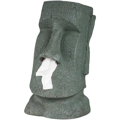 Rotary Hero Moai Tissue box Holder