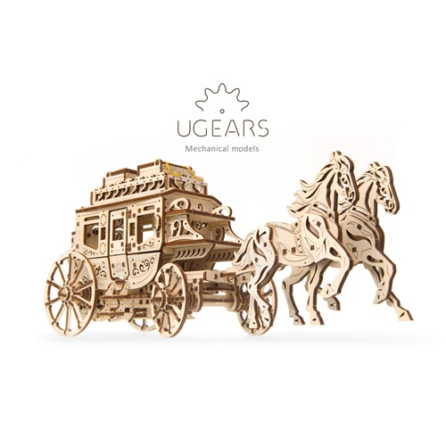 Ugears Wooden Model Kit - Stagecoach