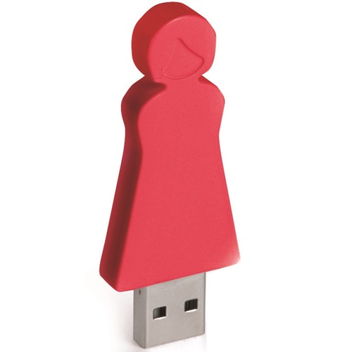 E-my - 4 GB USB Stick Mom - Red