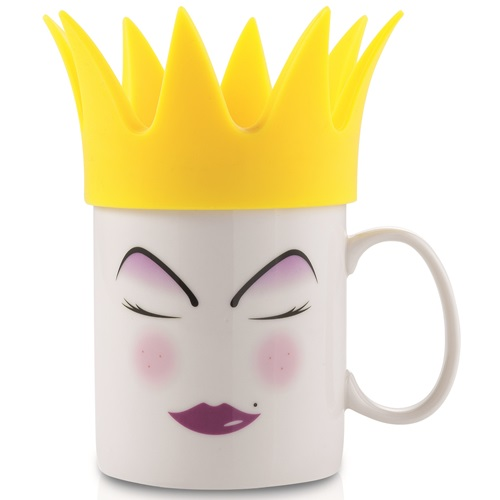 E-my - Mug with Silicone Hat - Vicky with Yellow Crown