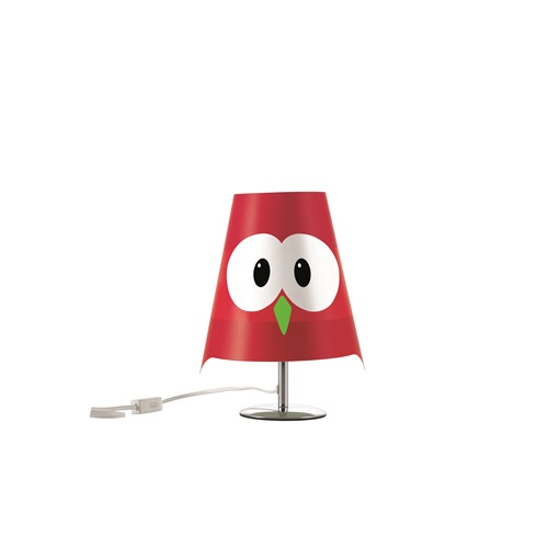 E-my - Table Lamp Lucignolo - Red