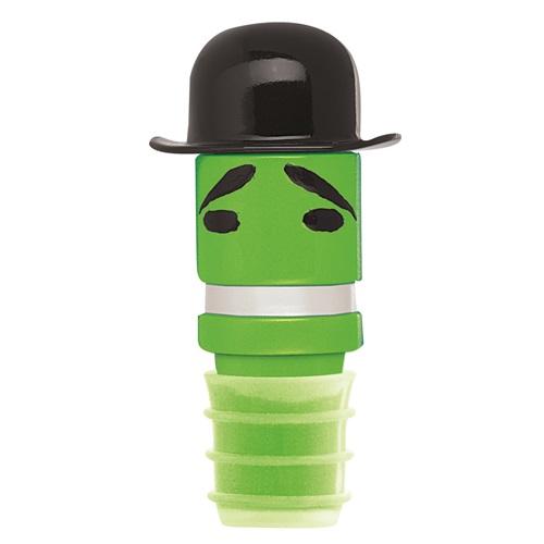 E-my - Wein Hüte Flaschen Stopper - Lord Bowler Grün