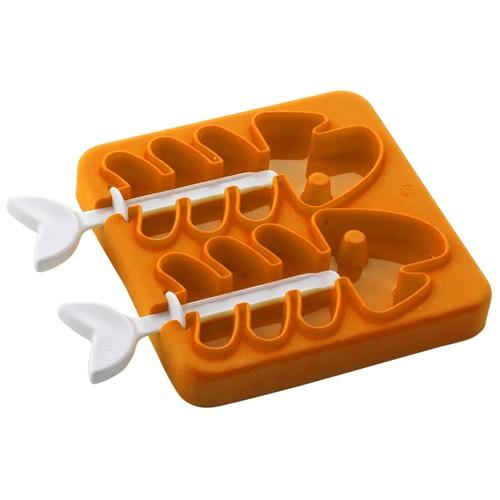 E-my - Stieleis Form Eisknochen - Orange