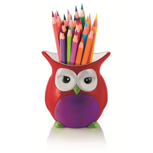 E-my - Multifunctional Container Amanda Owl - Red