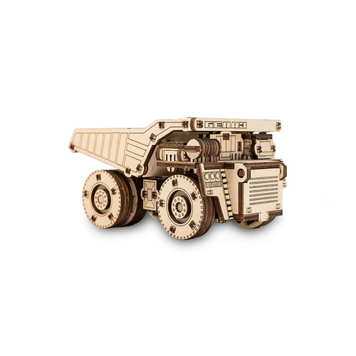 Eco-Wood-Art Belaz Mini Truck - Wooden Model Kit