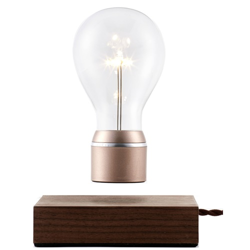 FLYTE Buckminster 2.1 Floating Tablelamp - Walnut / Copper