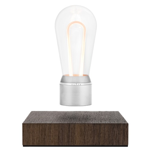 FLYTE Nikola 1.0 Floating Tablelamp - Walnut / Chromium