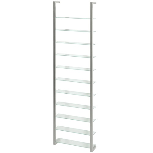 Spinder Design Cubic Wall rack with 11 Shelves - Nickel
