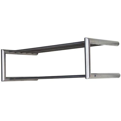 Spinder Design Smooth Wandgarderobe 80x33.5x23 - Nickel
