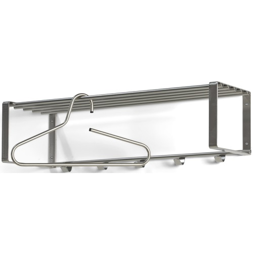 Spinder Design Rex 2 Wall Coat rack with 5 hooks 70x29x19 - Nickel