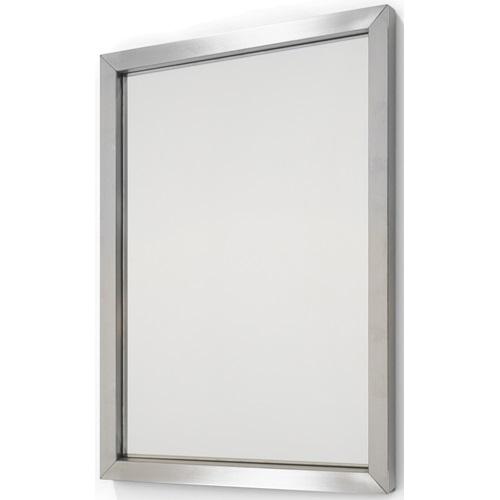 Spinder Design Senza Mirror 40x55 - Stainless Steel