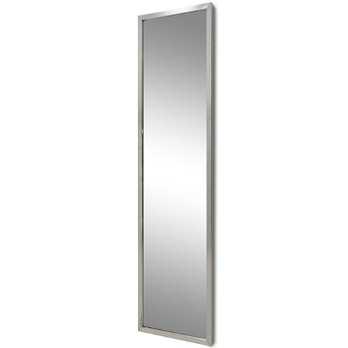 Spinder Design Senza Full Length Mirror 46x185 - Stainless Steel