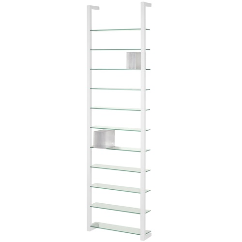 Spinder Design Cubic Wall rack with 11 Shelves - White