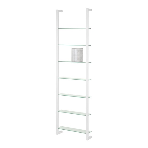 Spinder Design Cubic Wall rack with 7 Shelves - White