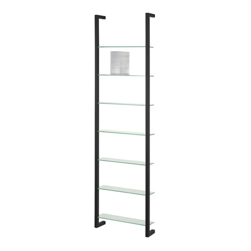 Spinder Design Cubic Wall rack with 7 Shelves - Black