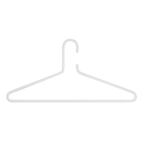 Spinder Design Senza 6 Clothing Hanger Set of 3 - White