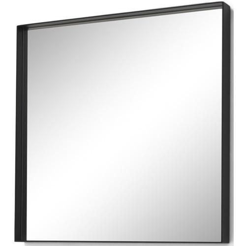 Spinder Design Donna 2 Spiegel Vierkant 60x60 - Zwart