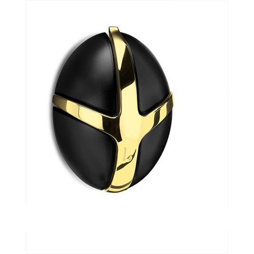 Spinder Design Tick Coat rack with Metal Hook - Gold/Black
