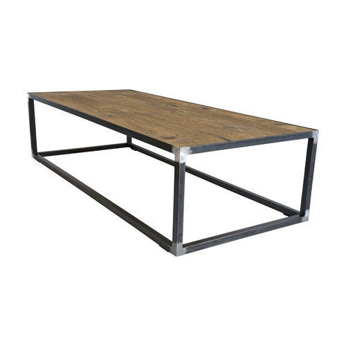 Spinder Design John Salontafel 140x60x35 - Blacksmith/Eiken