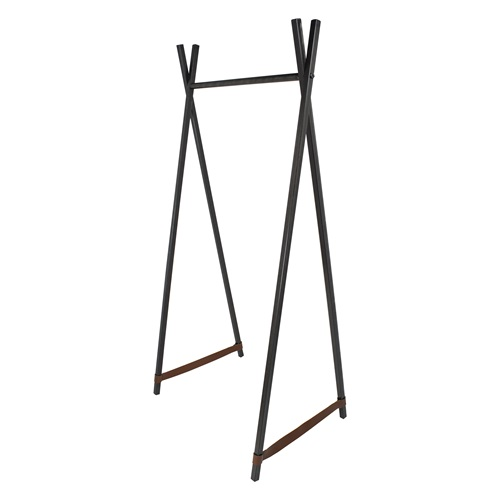 Spinder Design Groove Coat Rack Stand 70x50x160 - Blacksmith