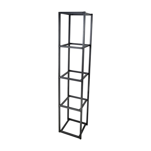 Spinder Design Tampa 1 Wall rack with 4 compartments - Blacksmith