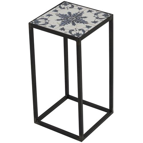 Spinder Design Ibiza Pilar 20x20x40 - Blacksmith/Tiles