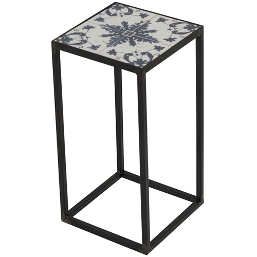 Spinder Design Ibiza Zuil 20x20x40 - Blacksmith/Tegels