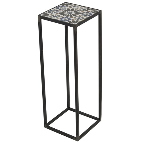Spinder Design Ibiza Pilar 20x20x60 - Blacksmith/Tiles