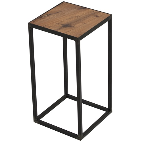 Spinder Design John Pilar 20x20x40 - Blacksmith/Oak