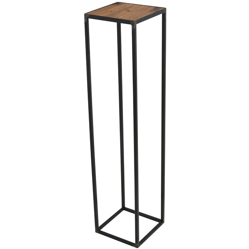 Spinder Design John Pilar 20x20x90 - Blacksmith/Oak