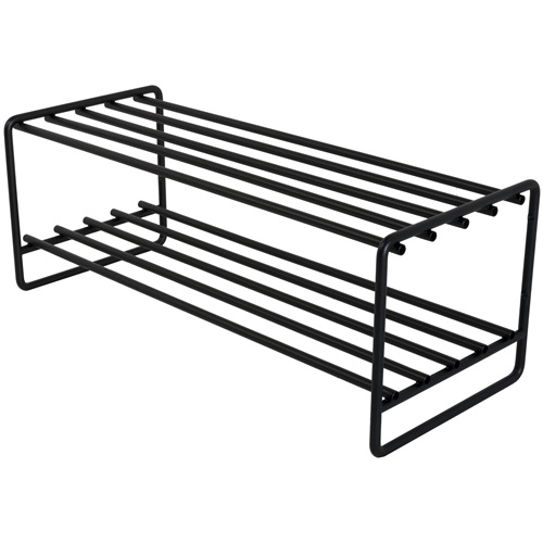 Spinder Design Clint Shoe rack 70x29x27 - Black