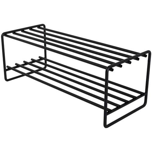 Spinder Design Clint Schuhregal 70x29x27 - Schwarz