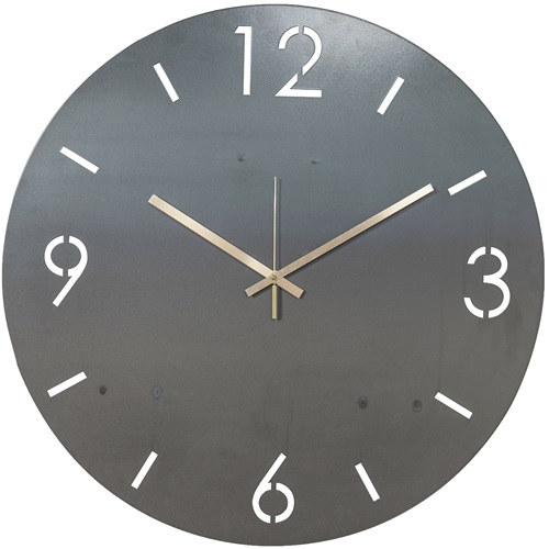 Spinder Design Time Wall Mounted Round Clock Ø 40cm - Blacksmith