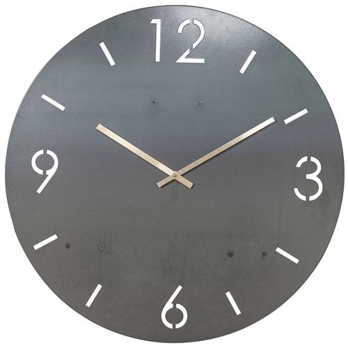 Spinder Design Time Wall Mounted Round Clock Ø 60cm - Blacksmith