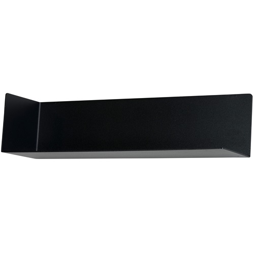 Spinder Design Matt Wall Mounted Shelf - Black