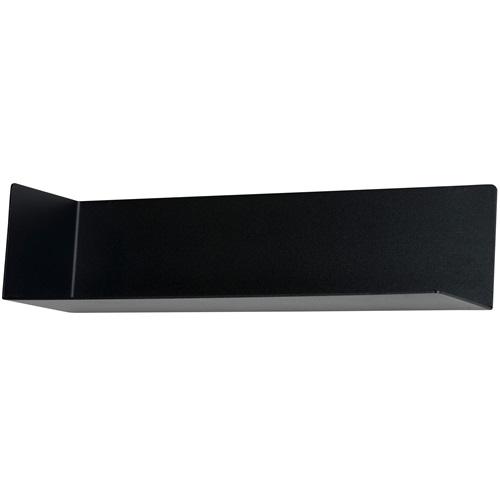 Spinder Design Matt Wand Plank - Zwart