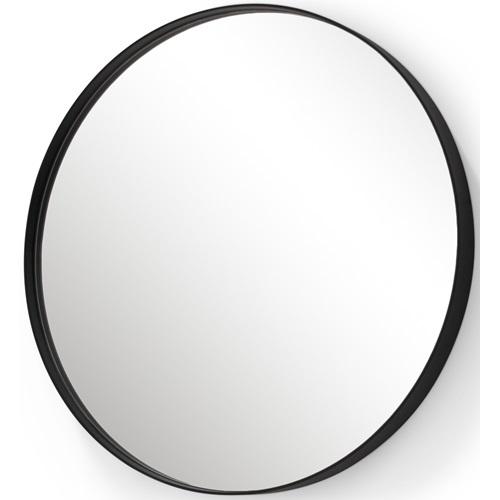 Spinder Design Donna 5 Mirror Round ø 90x5 - Black