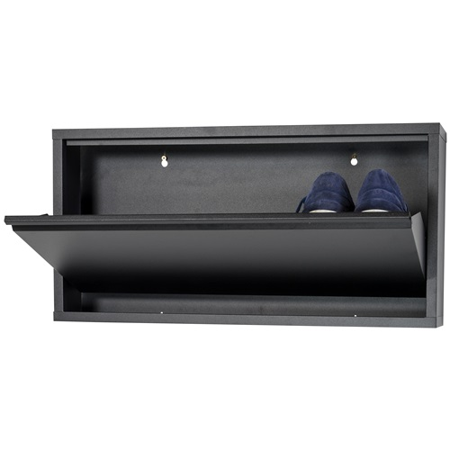 Spinder Design Billy 1 Shoe cabinet with 1 compartment 75x12.5x37.5 - Black