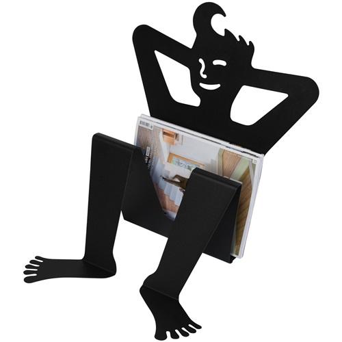 Spinder Design Zulu - Tijdschriftenrek - Zwart