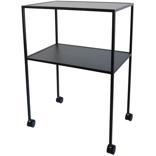 Spinder Design Keukentrolley - Bijzettafel - Zwart