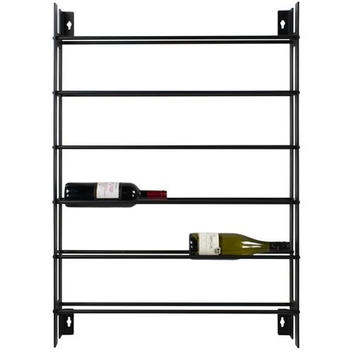 Spinder Design Vine - Wijnrek - Zwart