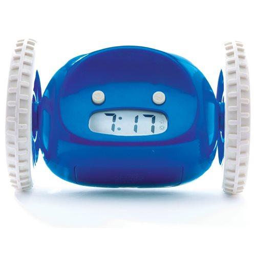 Clocky Alarm Clock on Wheels - Navy