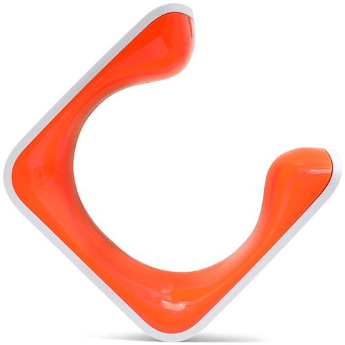 Clug MTB XL Bike Clip Wall Mounted Rack - White/Orange