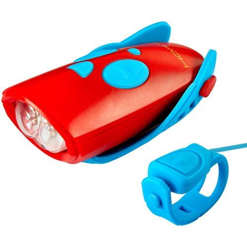Mini Hornit - Blue/Red