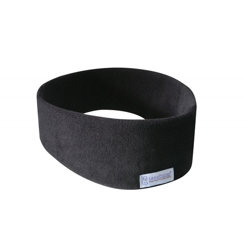 SleepPhones® Wireless v7 Fleece Midnight Black - Medium